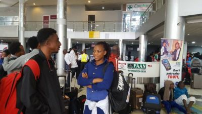 IAAF Africa Championships: Athletes, officials stranded at Lagos Airport