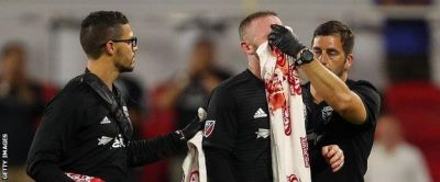 Wayne Rooney scores first DC United goal and breaks nose in win over Colorado Rapids