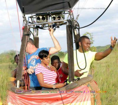 Cowbell in the Sky: Israel Laryea, Nana Aba Anamoah take their turns