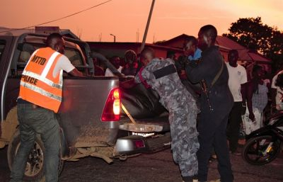 Tragedy as bus rans over two friends in Navrongo