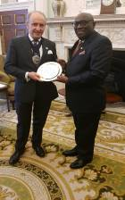 Ghana High Commissioner to UK pays courtesy call on Mayor of London