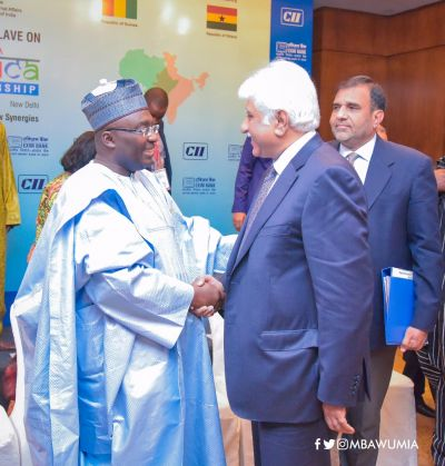 Time to invest in Africa is now – Dr Bawumia challenges Indian investors