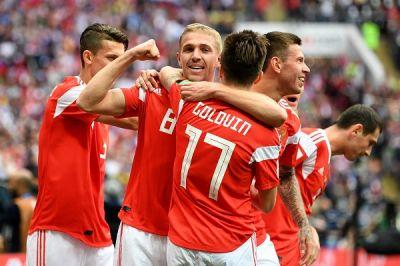 LIVESTREAMING: Russia 2-0 Saudi Arabia