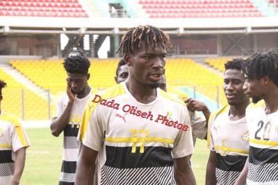 Ghana U-23 side hold training session ahead of Algeria clash