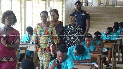 Education Director tours WASSCE centres in Kumasi