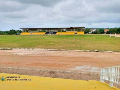 Koforidua Sports Stadium nears completion