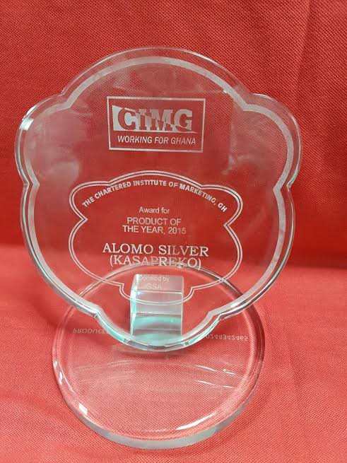 The company's Alomo Silver was adjudged Product of the Year