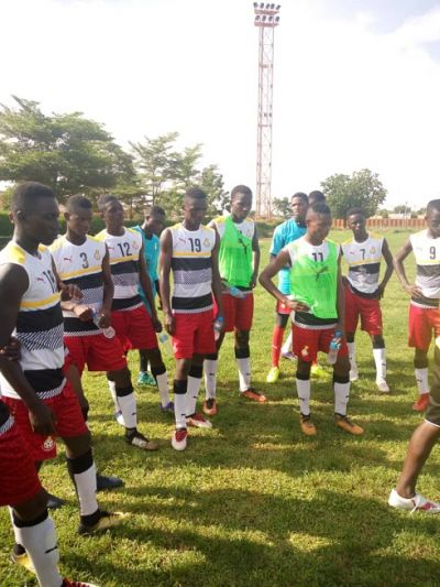 Black Starlets train ahead of Togo clash