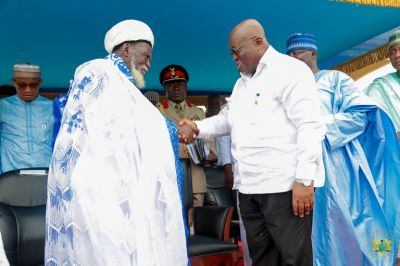 Beware of religious extremists – Akufo-Addo advises Muslims