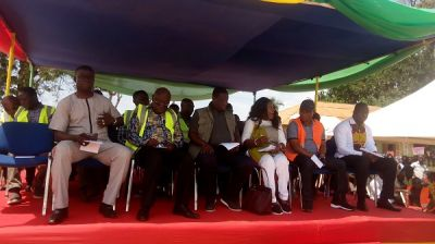 Roads and Highways Minister cuts sod for 6km Axim-Nsein township road