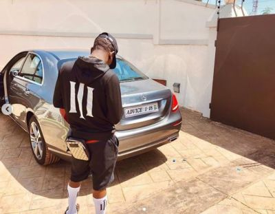 Shatta Wale pampers himself with a Mercedes Benz on his 34th birthday