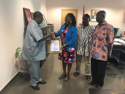 Ursula commended for 'ensuring' creation of Ablekuma West Assembly