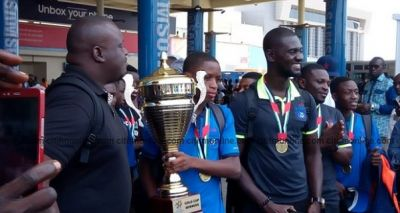 Lizzy Sports Club returns to Ghana after winning Dubai Cup