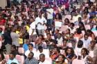 Omotola lectures at University of Ghana Business School
