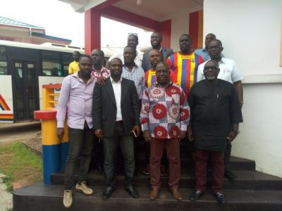 Hearts of Oak's Chapter 64 donate to players ahead of the Kotoko Clash