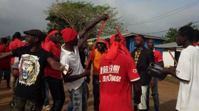 Kwahu-Tafo residents demonstrate against robbery attacks
