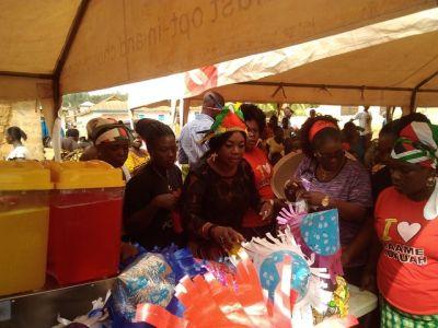 Pokuah Sawyer celebrates Christmas with 5000 children