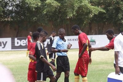 Betway select team plays Black Starlets in friendly