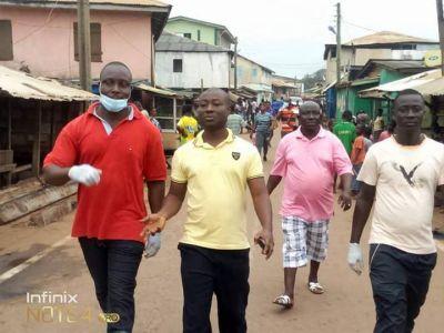 Awulea Attibrukusu III leads clean up exercise in Axim