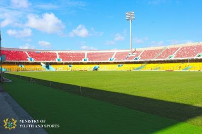 Accra Sports Stadium completed, ready for opening