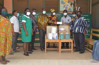 Ekuona family supports five govt institutions in Adansi Fomena