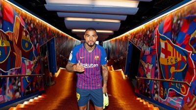 Barcelona unveil Kevin-Prince Boateng