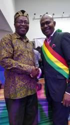 Elder Francis Agyei wins Most Favorite Gospel Artiste at National Leadership Awards