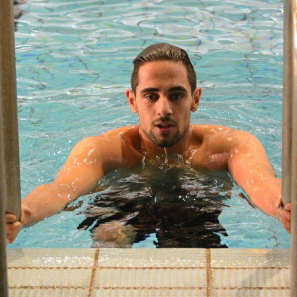 """Kamyar Karimi : """"Strength, Patience, Swimmer, and Athlete"""""""