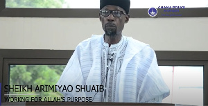 Ghana Police Mosque - Friday Khutbah by Sheikh Arimiyao Shuaib