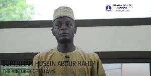 Ghana Police Mosque - Friday Khutbah by Supt./ Imam Husein Abdur Rahim