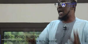 Ghana Police Mosque - Friday Khutbah by Sheikh Ishaq Nuamah